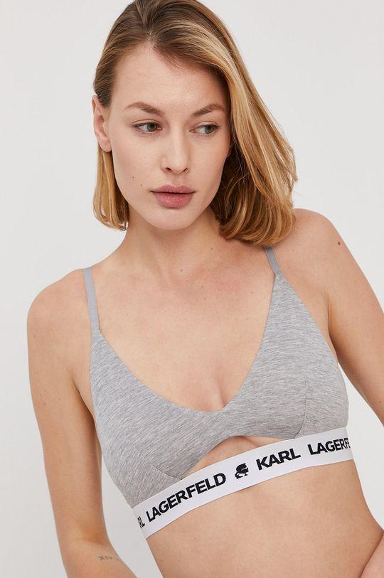 světle šedá Karl Lagerfeld - Podprsenka Dámský