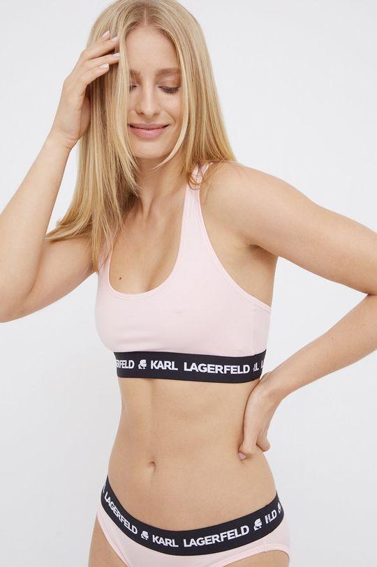 Karl Lagerfeld - Biustonosz sportowy 5 % Elastan, 95 % Lyocell