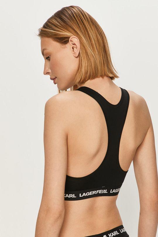 Karl Lagerfeld - Športová podprsenka čierna