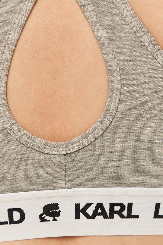 jasny szary Karl Lagerfeld - Biustonosz sportowy