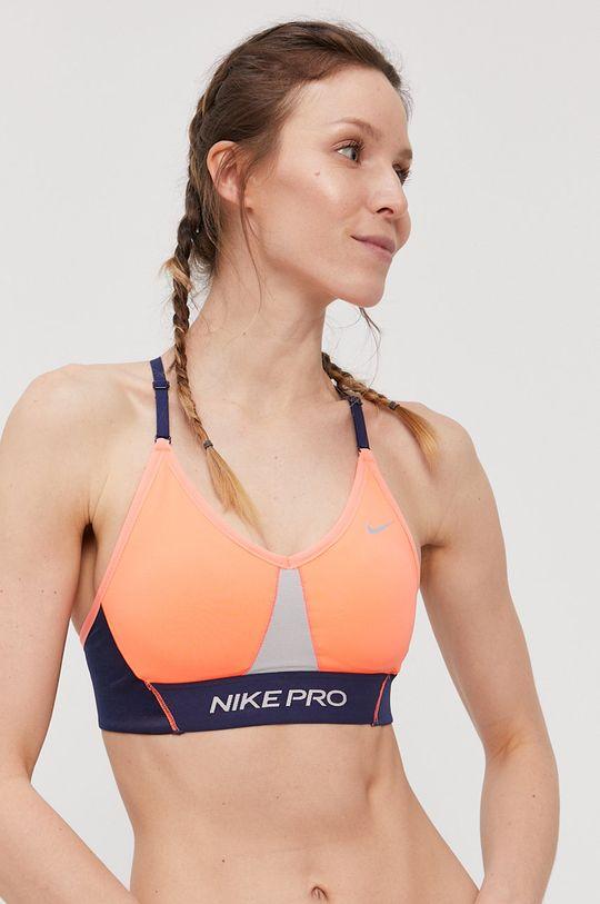 oranžová Nike - Športová podprsenka Indy Dámsky