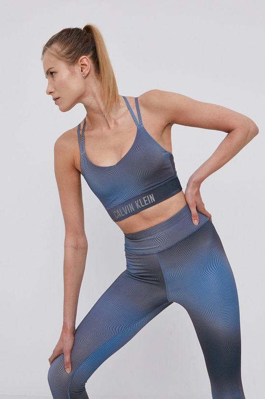 ocelová modrá Calvin Klein Performance - Sportovní podprsenka