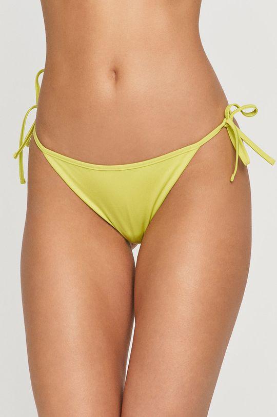 žlutě zelená Armani Exchange - Plavkové kalhotky Dámský