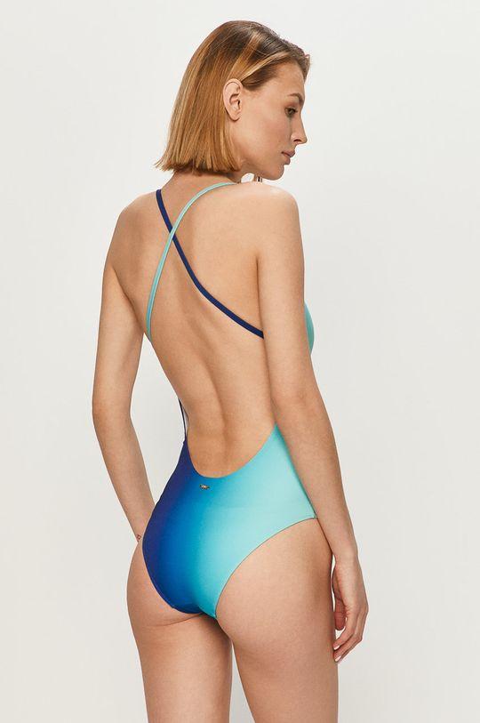 Armani Exchange - Strój kąpielowy niebieski