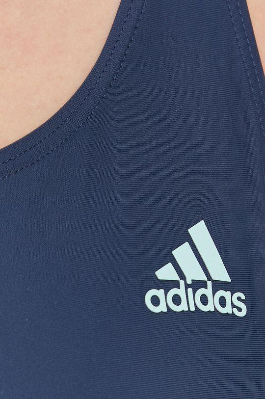 granatowy adidas Performance - Strój kąpielowy