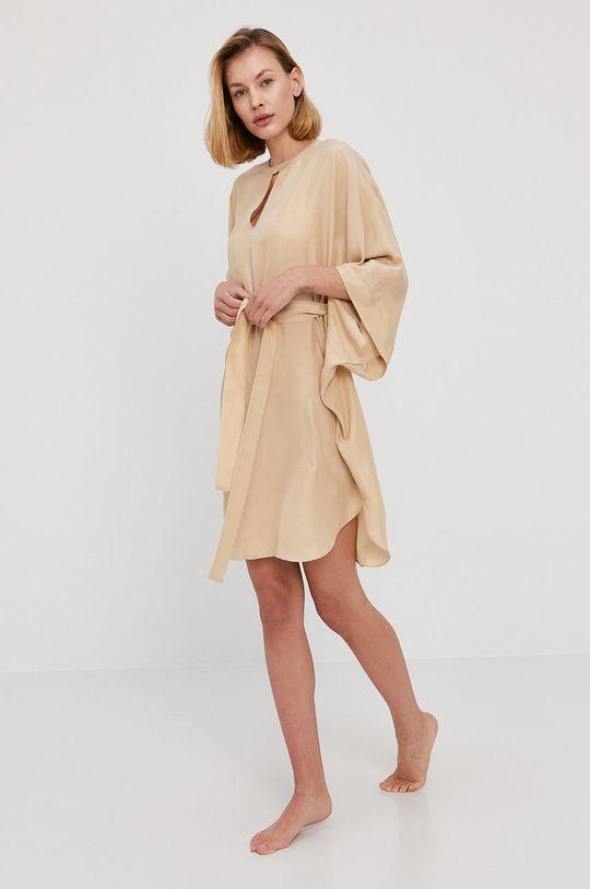 piaskowy Twinset - Sukienka plażowa Damski
