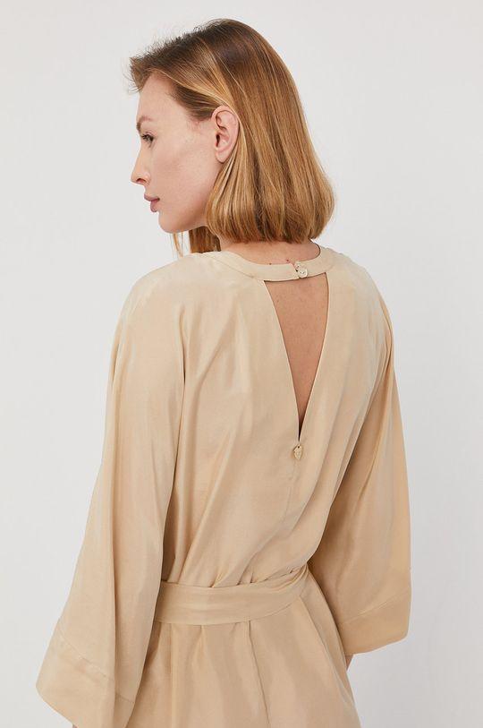 Twinset - Sukienka plażowa piaskowy