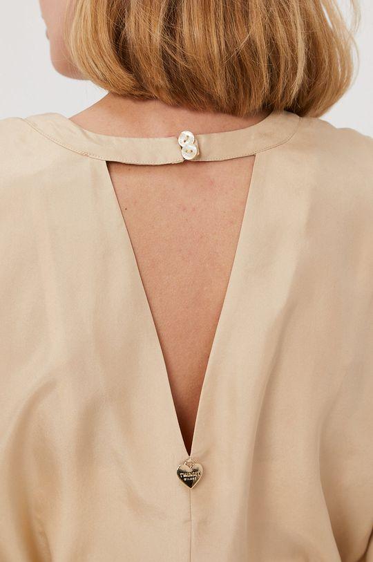 piaskowy Twinset - Sukienka plażowa