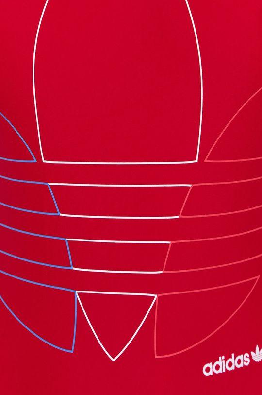 czerwony Adidas Originals - Strój kąpielowy