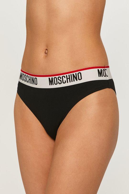 černá Moschino Underwear - Kalhotky (2-pack) Dámský