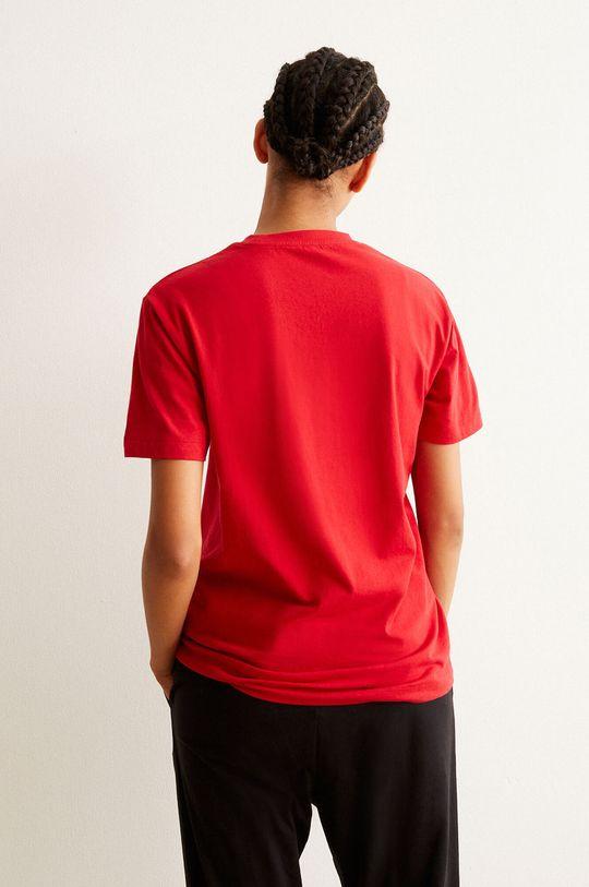 Undiz - Pyžamové tričko PLUTOIZ červená