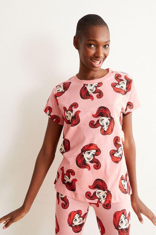 różowy Undiz - T-shirt piżamowy ALLARIELIZ Damski