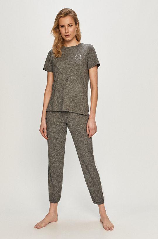 Dkny - Pyžamové tričko šedá