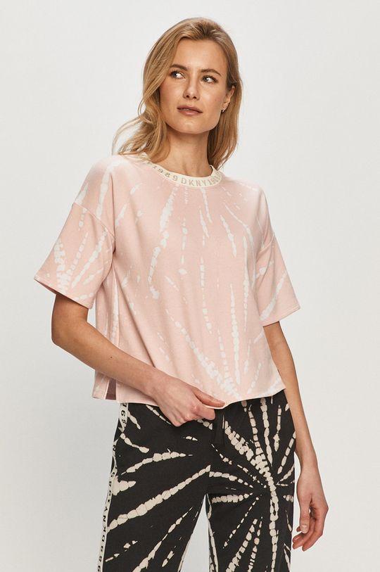Dkny - Pyžamové tričko růžová