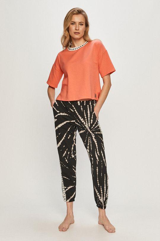 Dkny - Pyžamové tričko korálová