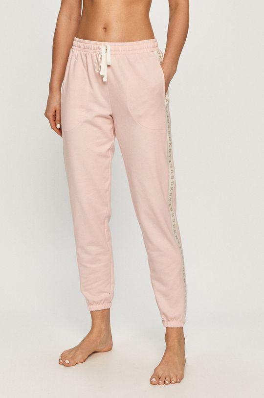 růžová Dkny - Pyžamové kalhoty Dámský