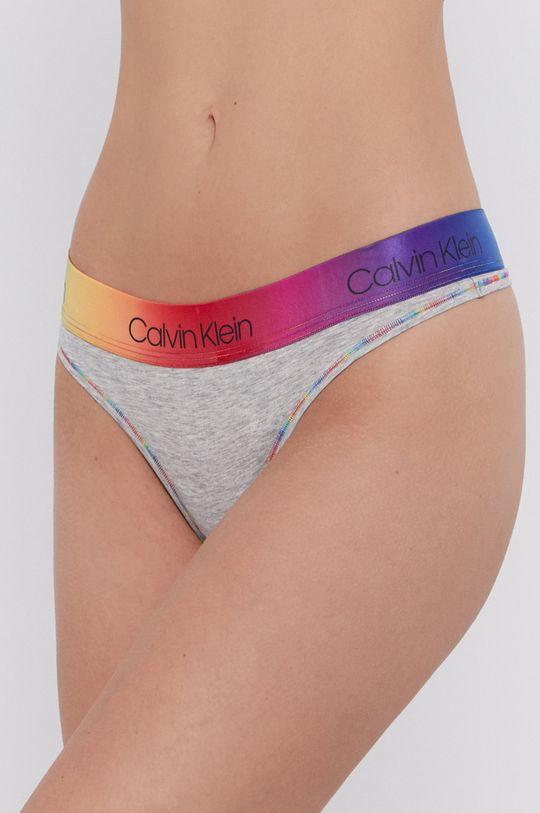 světle šedá Calvin Klein Underwear - Tanga Dámský