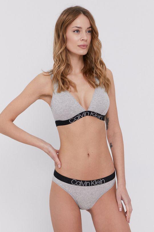 Calvin Klein Underwear - Figi jasny szary