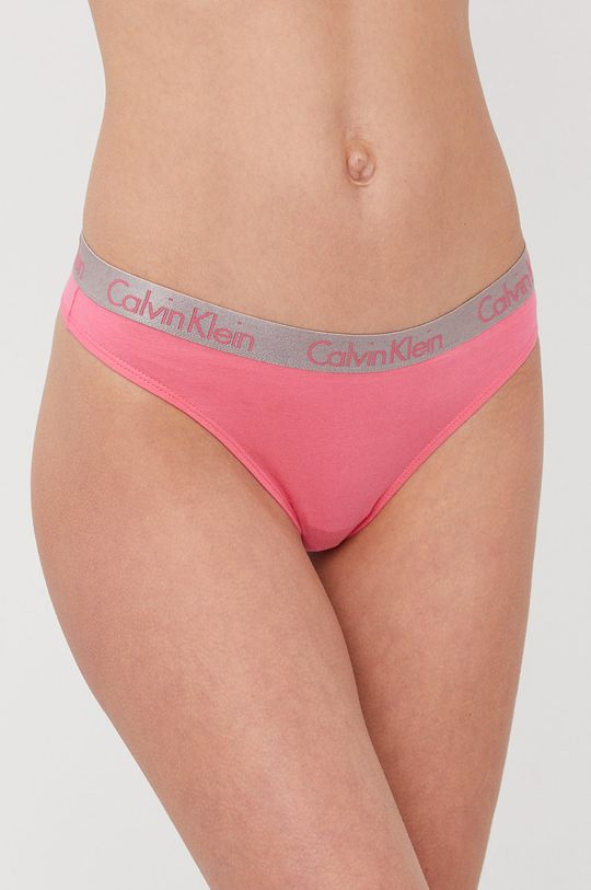 multicolor Calvin Klein Underwear - Stringi (3-pack) Damski