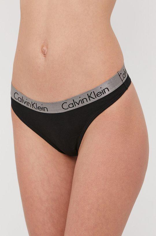 Calvin Klein Underwear - Stringi (3-pack) Materiał 1: 95 % Bawełna, 5 % Elastan, Materiał 2: 100 % Bawełna, Materiał 3: 62 % Poliamid, 9 % Elastan