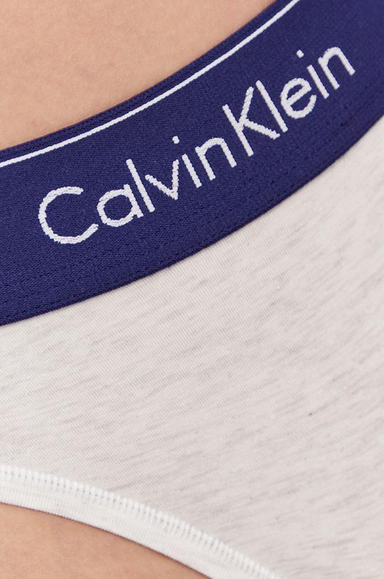 Calvin Klein Underwear - Tanga  Materialul de baza: 53% Bumbac, 12% Elastan, 35% Modal Insertiile: 100% Bumbac
