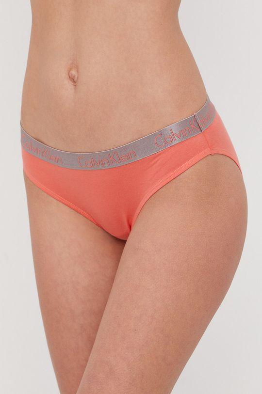 koralowy Calvin Klein Underwear - Figi Damski