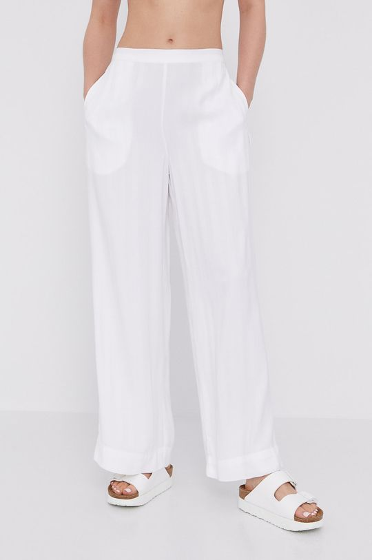 biały Calvin Klein Underwear - Spodnie piżamowe Damski
