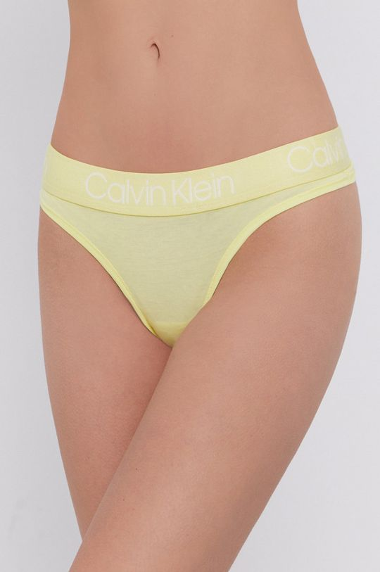 vícebarevná Calvin Klein Underwear - Tanga (5-pack) Dámský
