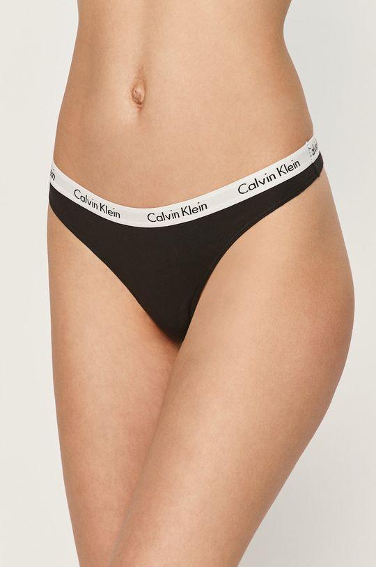 Calvin Klein Underwear - Tangá (3-pak)  90% Bavlna, 10% Elastan