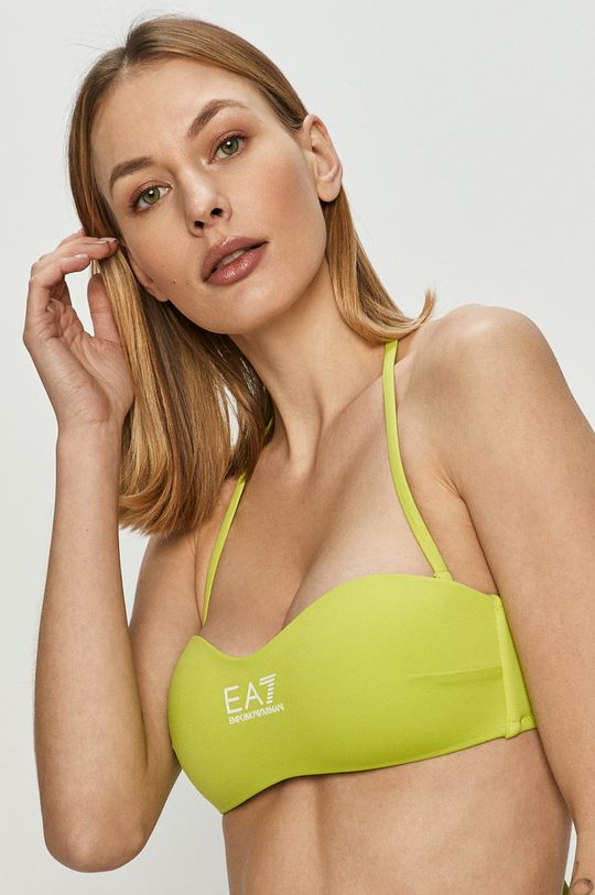 EA7 Emporio Armani - Strój kąpielowy 13 % Elastan, 87 % Poliester
