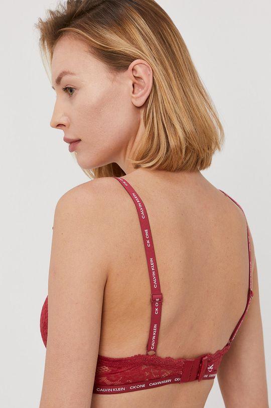 Calvin Klein Underwear - Biustonosz CK One kasztanowy