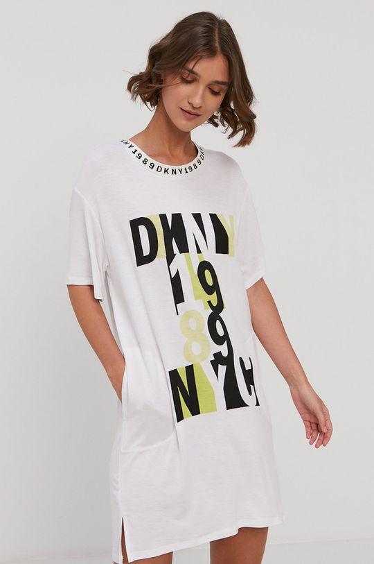 biały Dkny - Koszula nocna Damski