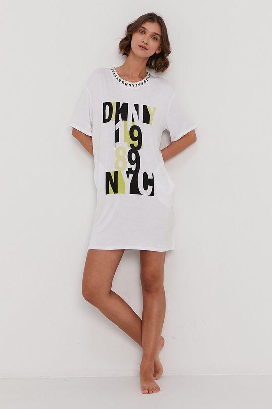 Dkny - Koszula nocna biały