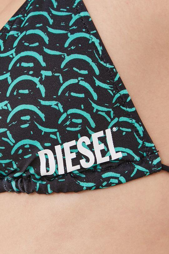 czarny Diesel - Biustonosz kąpielowy