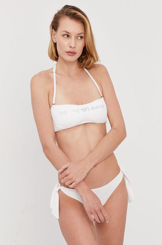 biały Emporio Armani - Strój kąpielowy Damski