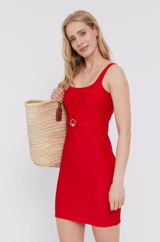 czerwony Emporio Armani - Sukienka Damski