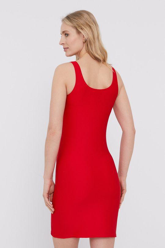 Emporio Armani - Sukienka czerwony