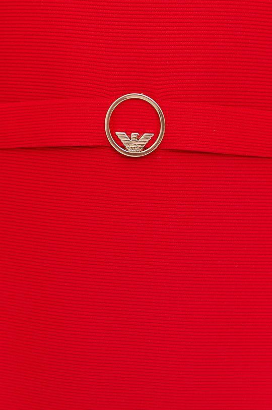 czerwony Emporio Armani - Sukienka