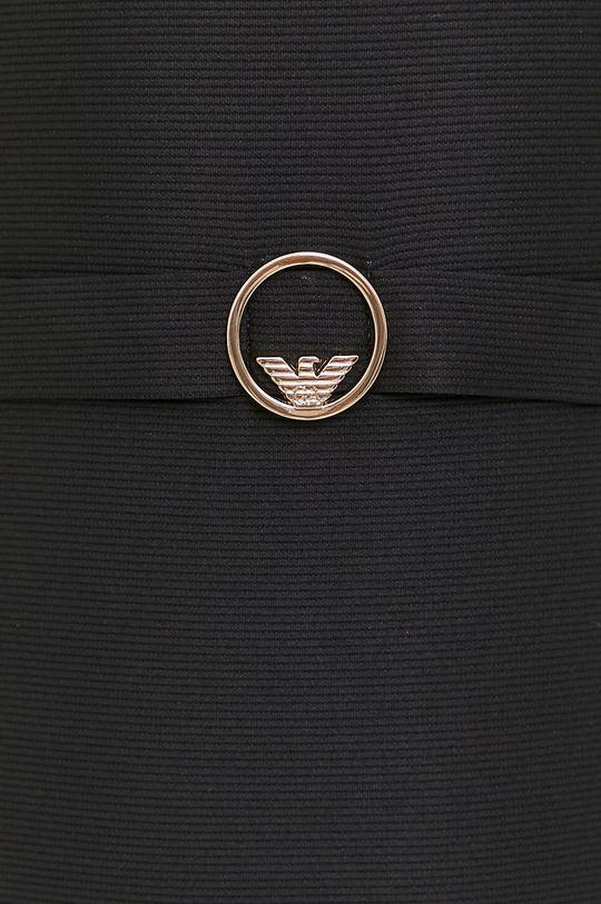 czarny Emporio Armani - Sukienka