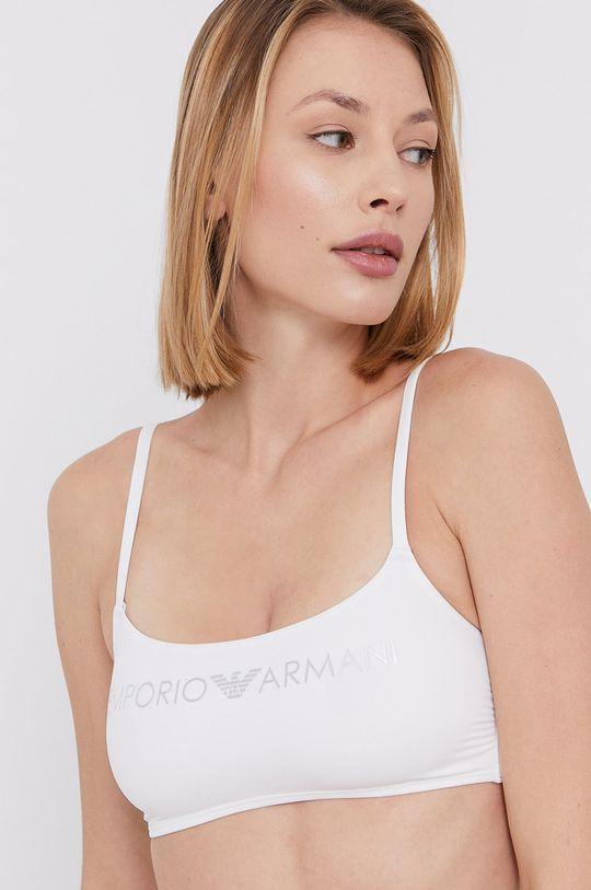 Emporio Armani - Strój kąpielowy biały