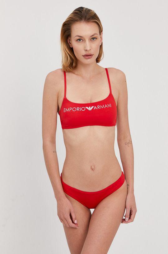 červená Emporio Armani - Plavky Dámský