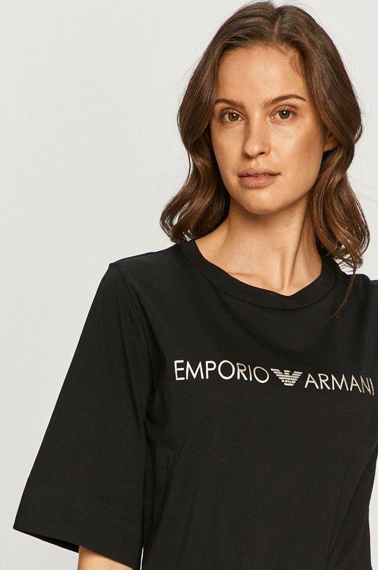 Emporio Armani - Sukienka 100 % Bawełna