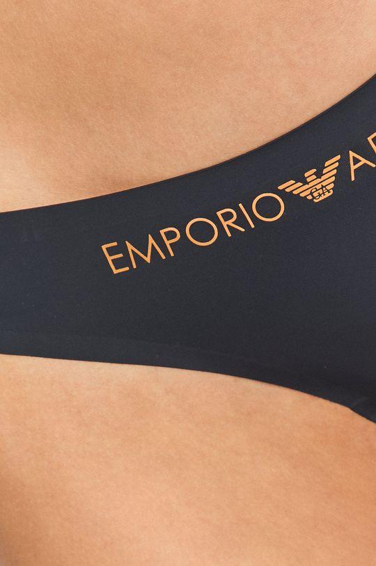 granatowy Emporio Armani - Figi