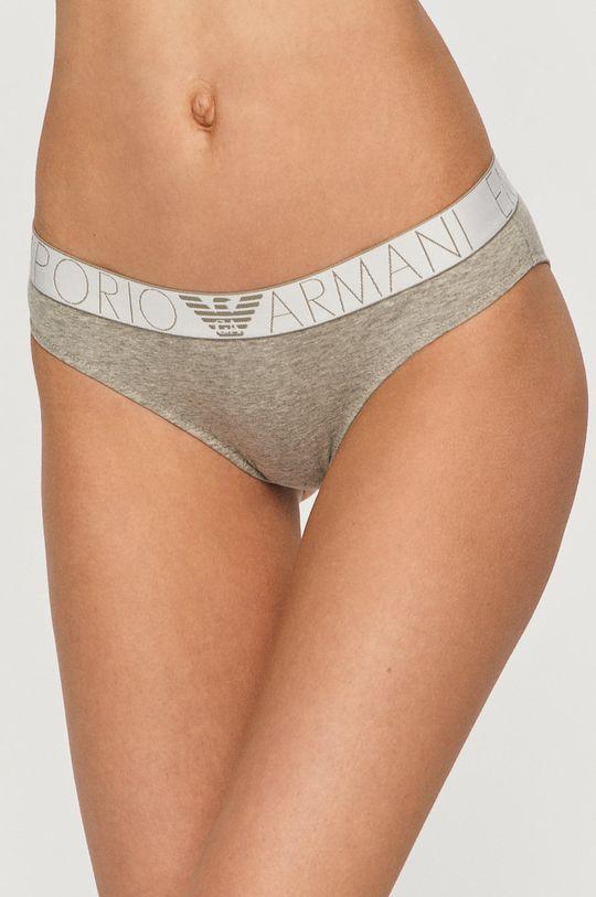 šedá Emporio Armani - Kalhotky (2-pack) Dámský