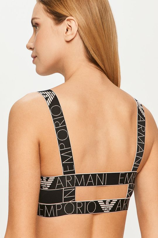 Emporio Armani - Podprsenka čierna