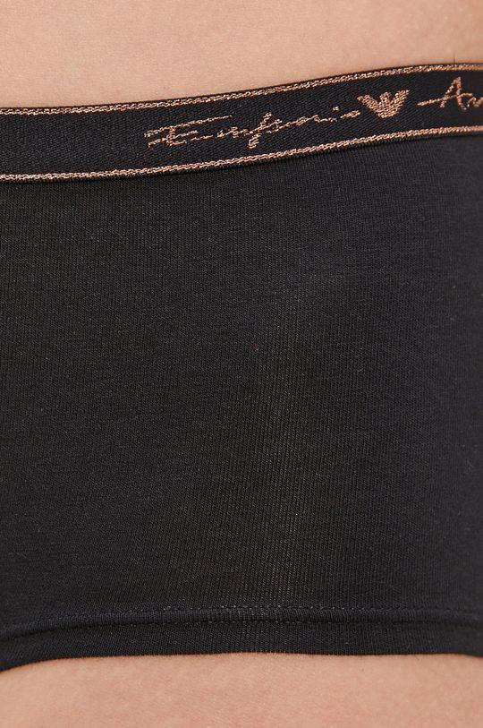 Emporio Armani - Kalhotky  Hlavní materiál: 95% Bavlna, 5% elastomultiester Provedení: 16% Elastan, 56% Polyamid, 23% Polyester, 5% Jiný materiál