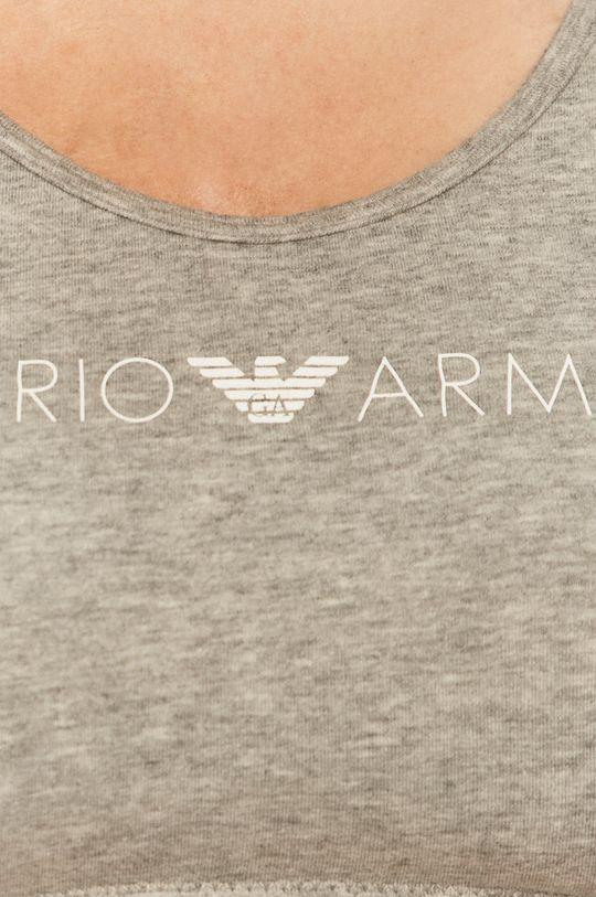 šedá Emporio Armani - Sportovní podprsenka