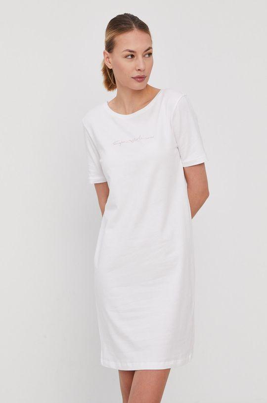 biały Emporio Armani - Koszula nocna Damski