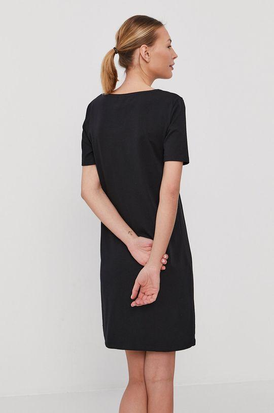 Emporio Armani - Nočná košeľa čierna