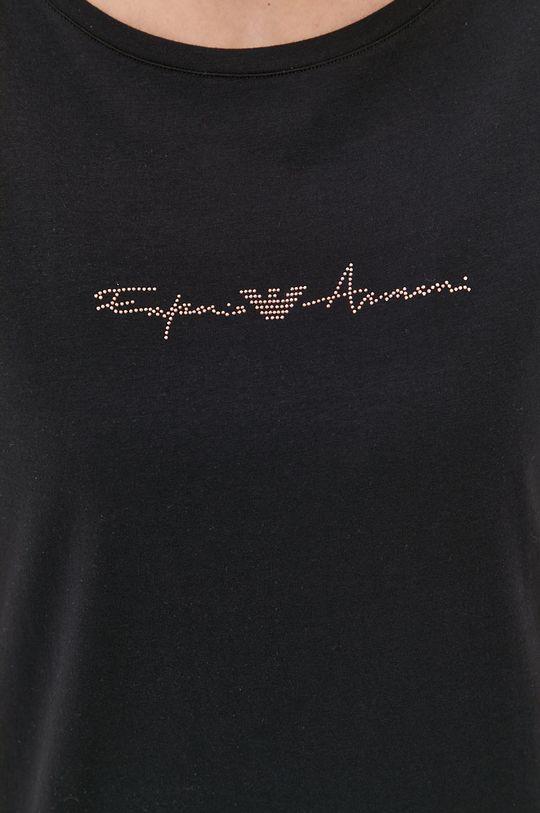 čierna Emporio Armani - Nočná košeľa